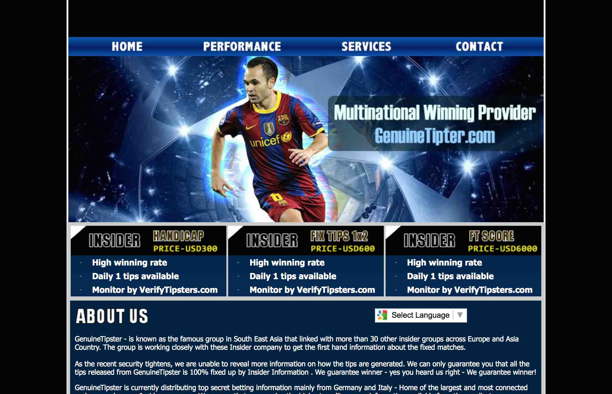 Genuine Monitored Tipster and Verified Tipster